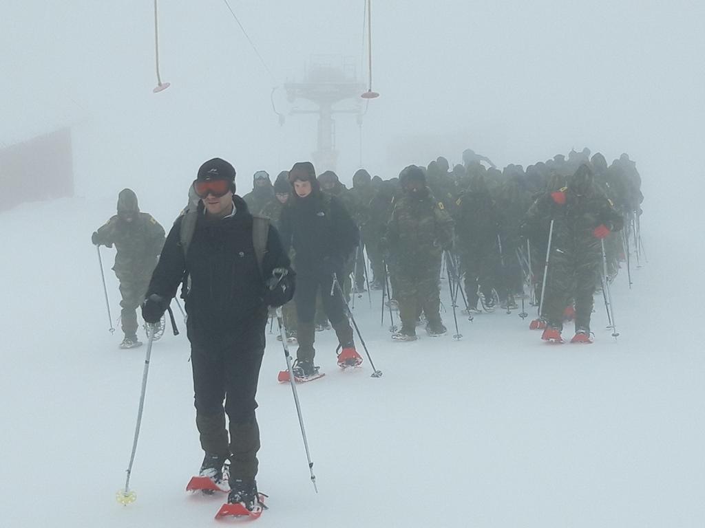 11 2 - Εντυπωσιακές εικόνες από την χειμερινή εκπαίδευση στον Όλυμπο