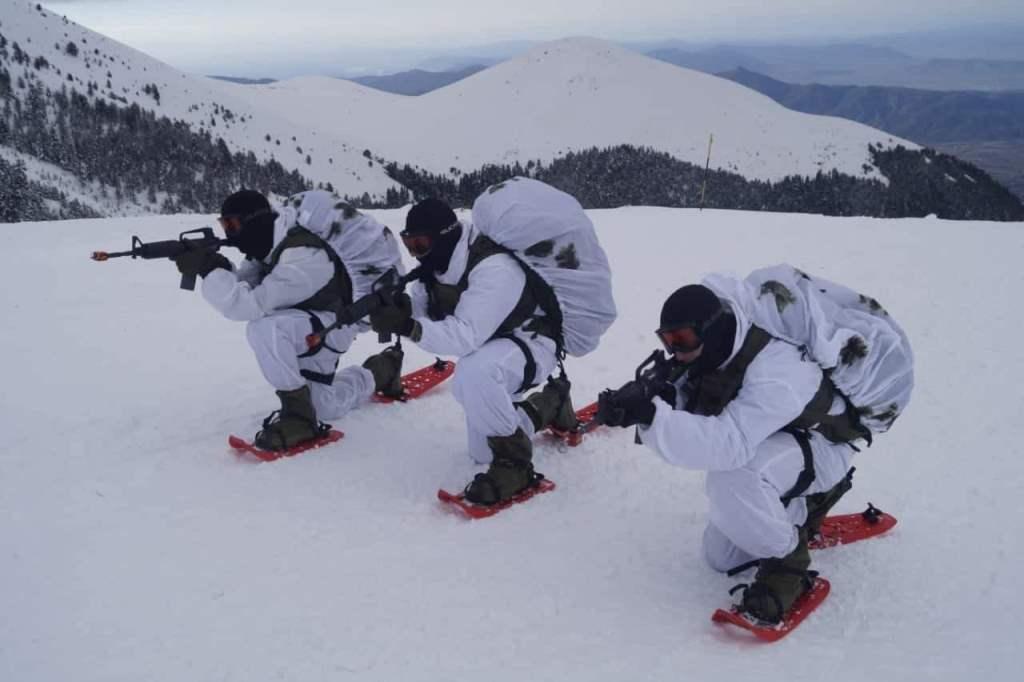 16 - Εντυπωσιακές εικόνες από την χειμερινή εκπαίδευση στον Όλυμπο