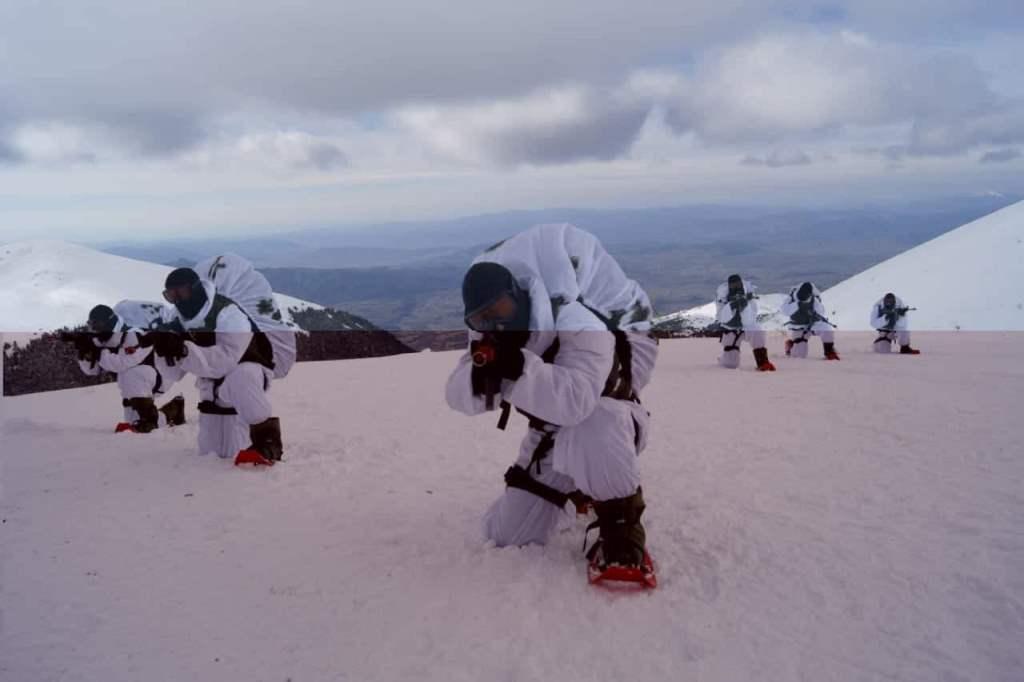 22 - Εντυπωσιακές εικόνες από την χειμερινή εκπαίδευση στον Όλυμπο