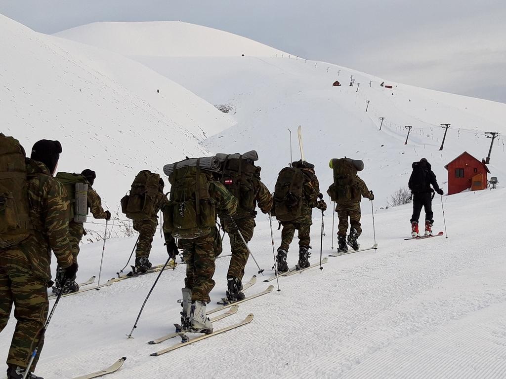 5 6 - Εντυπωσιακές εικόνες από την χειμερινή εκπαίδευση στον Όλυμπο
