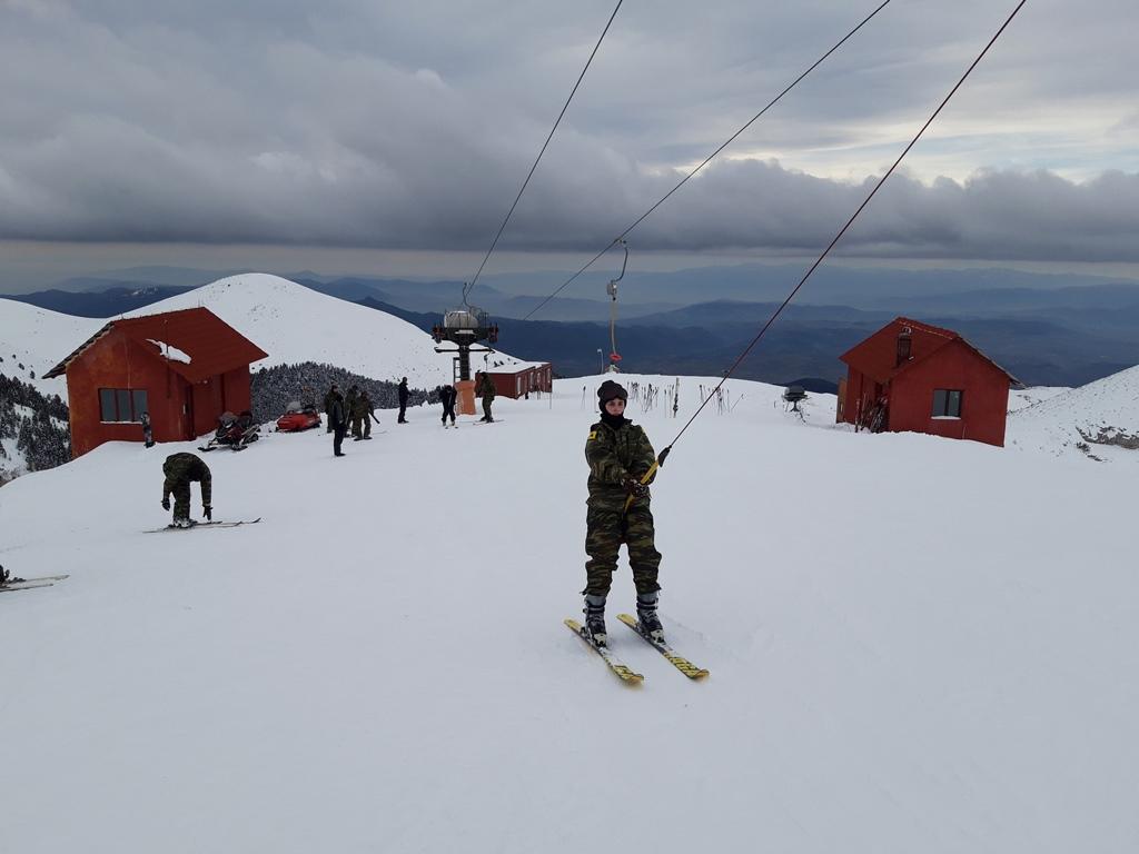9 1 - Εντυπωσιακές εικόνες από την χειμερινή εκπαίδευση στον Όλυμπο